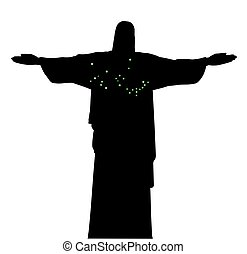 Christ The Redeemer - The statue of Christ the Redeemer in...