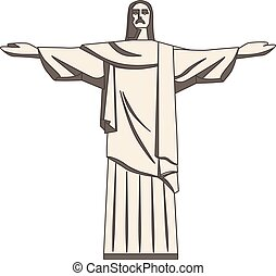 The Christ The Redeemer Statue Icons 9 Set The Christ The