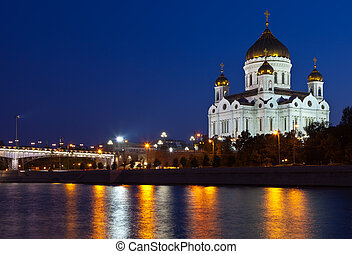 Christ the Savior Cathedral at Moscow - Christ the Savior...