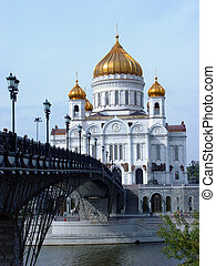 Christ the Savior Cathedral - the main cathedral of the Russian Orthodox Church in Moscow