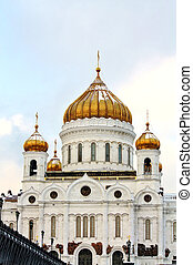 Christ the Savior Cathedral - largest cathedral of the russian orthodox church