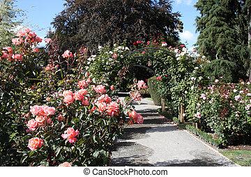 christchurch, jardín botánico