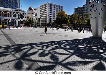 CHRISTCHURCH - FEB 27:Christchurch city, Feb 27 2009,NZ.Christchurch earthquake in Feb 2011 killed 185 people and caused damage of NZ$15 billion one of the most costliest earthquake in the world