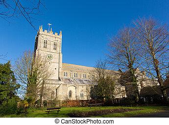 christchurch, priorskloster, dorset, england