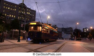 christchurch, restaurant, tramway