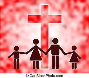 christen, gezin