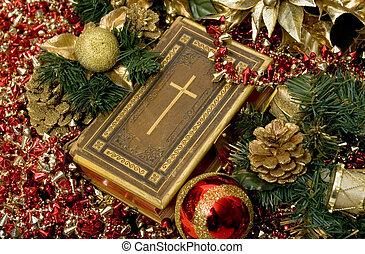 christen, kerstmis