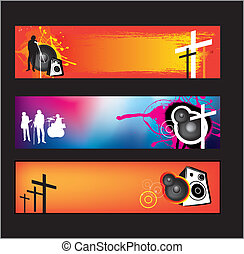christen, moderne, muziek