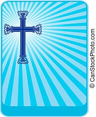 christen, ontwerp, kruis