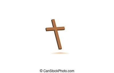 christens, cruz, icono