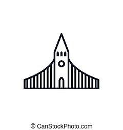 Christian and catholic church vector design