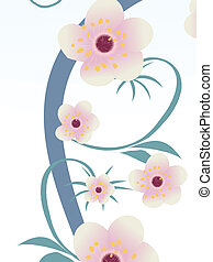 Christian baptism concept with cross flowers and dove