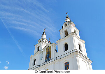 Christian cathedral in Minsk, Belarus