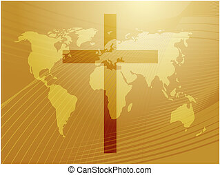 Christian cross - Christian church cross, religious...