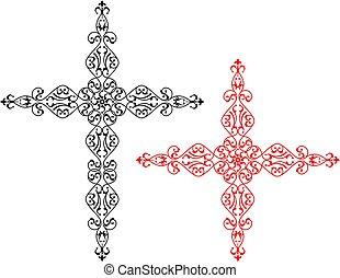 Christian Cross Design, The Symbol Of Christianity