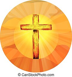 Christian Cross Symbol of Jesus Resurrection