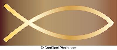 Christian Fish Gold