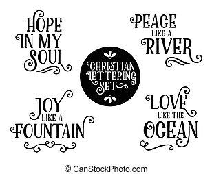 Christian Gospel Lyrics Phrases Collection
