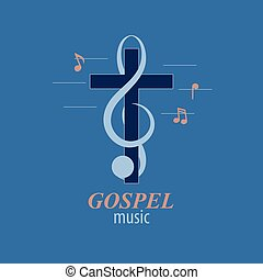Christian music logo - Musical logo, which symbolizes...