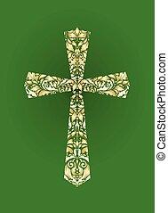 Christian ornate cross