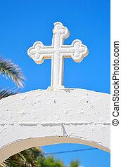 Christian orthodox cross.