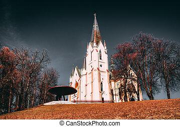 Christian pilgrimage site - Marianska hora, Slovakia - ...