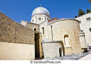 Christian quarter in the old city of Jerusalem