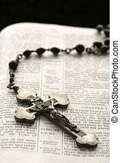 Christian symbols.