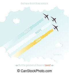 Christianity Bible Verse God Jesus Symbol Plane Colourful ...