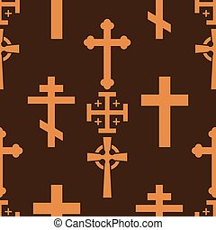 Christianity church cross religion vector religionism...