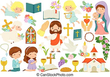 Christianity clipart bundle