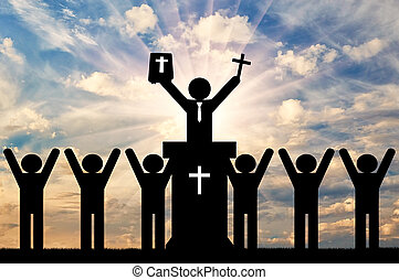 Christianity religion concept