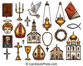 Christianity religion orthodox, catholic symbols - Orthodox ...