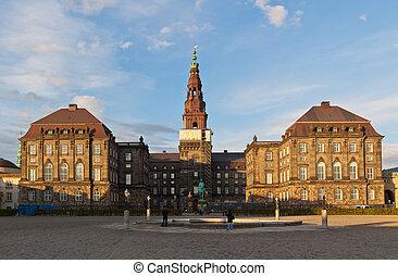 christiansborg, palais