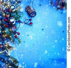 christmas új év, fél