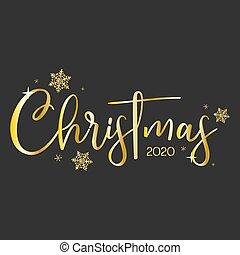 Christmas 2020. Greetings Card