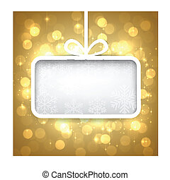 Christmas abstract background.