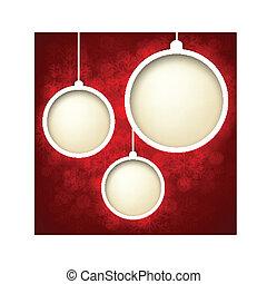 Christmas abstract background. - Abstract shiny christmas...