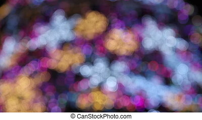christmas abstract light 3