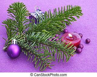 Christmas advent mood