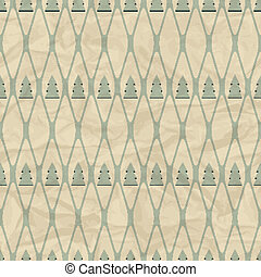 Christmas and Holidays seamless pattern with tree.