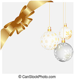 Christmas and New Year background. Vector illustration. EPS...