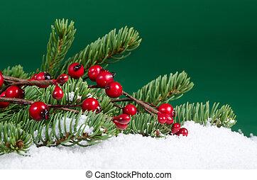 Christmas and New Year Border