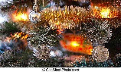 Christmas and New Year Decoration.