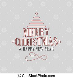 Christmas and New Year greetings.