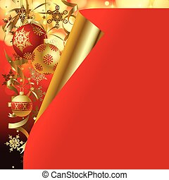 Christmas and New-Year's greeting c