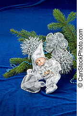 Christmas Angel And Tree