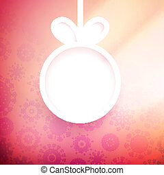 Christmas applique background.+ EPS10 vector file
