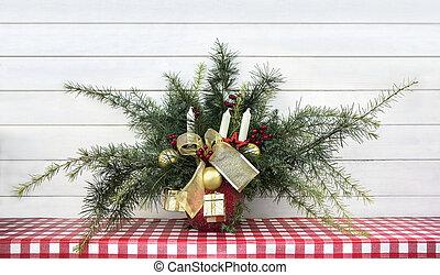 Christmas arrangement decoration