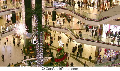 Christmas at the Mall